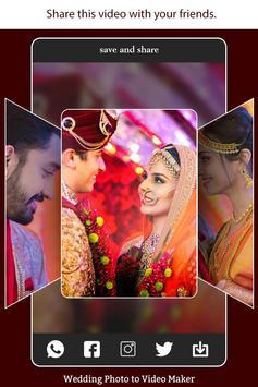 Wedding Photo to Video Maker with Music screenshot 7