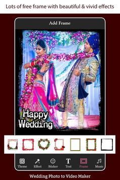 Wedding Photo to Video Maker with Music screenshot 5