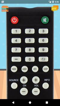 Remote Control For Element TV poster