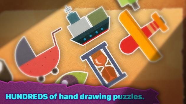 Chigiri : Puzzle en papier capture d'écran 3