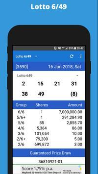 Canada Lotto screenshot 1