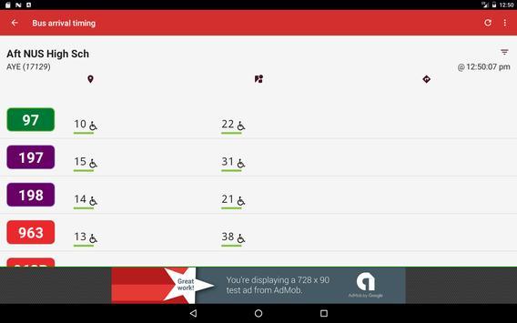SG Bus screenshot 8