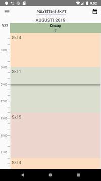Shift Schedule screenshot 1