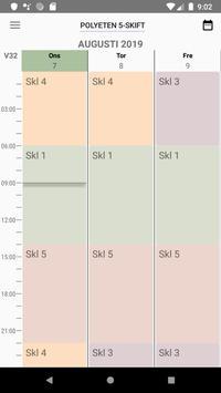 Shift Schedule screenshot 2