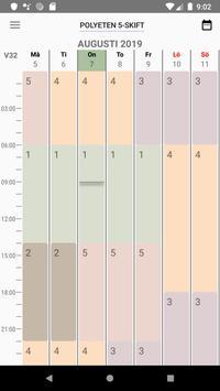 Shift Schedule screenshot 3