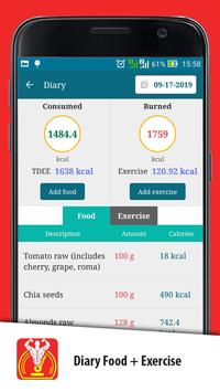 Weight Gain Calculator screenshot 11