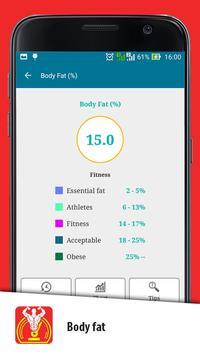 Weight Gain Calculator screenshot 23