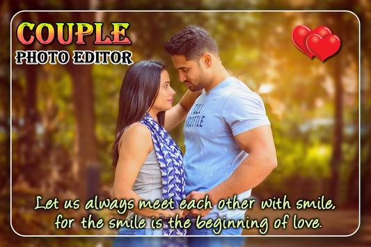Couple Photo Editor poster