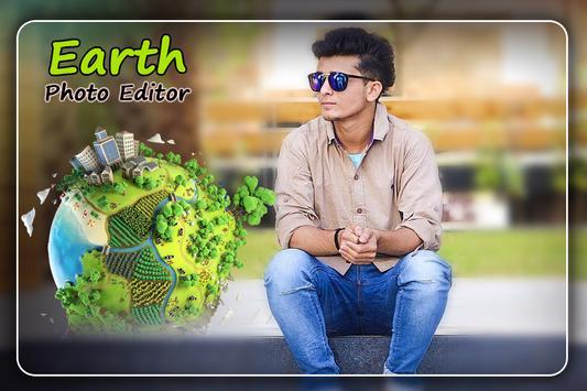 Earth Photo Editor poster