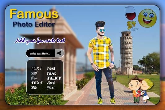 Famous Photo Editor screenshot 3