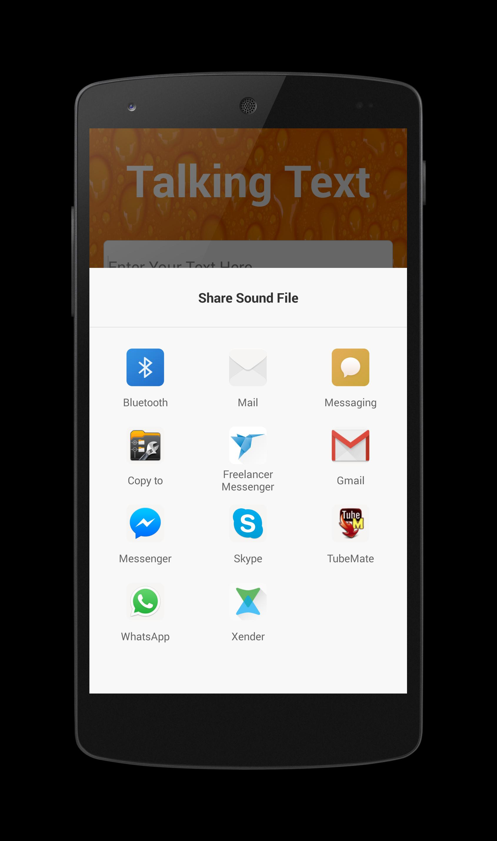 Talking Text for Android - APK Download