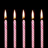 Birthday candles icon