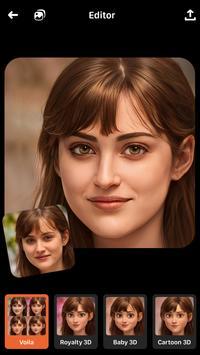 Voilà AI Artist Foto Editor screenshot 6