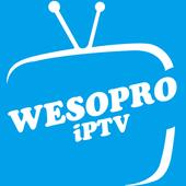 WESOPRO IPTV PRO आइकन