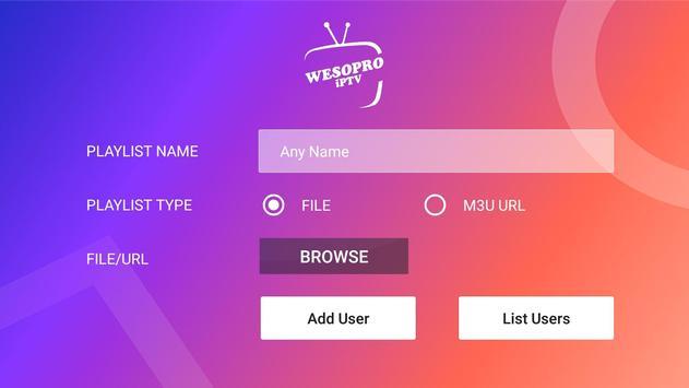 WESOPRO IPTV PRO स्क्रीनशॉट 3