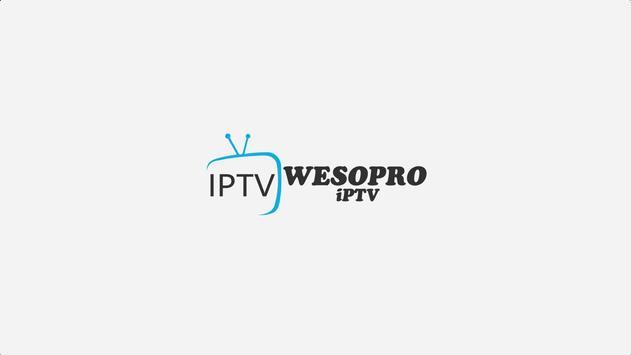 WESOPRO IPTV PRO पोस्टर