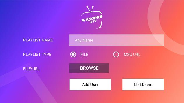 WESOPRO IPTV PRO स्क्रीनशॉट 17