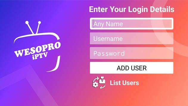 WESOPRO IPTV PRO स्क्रीनशॉट 4