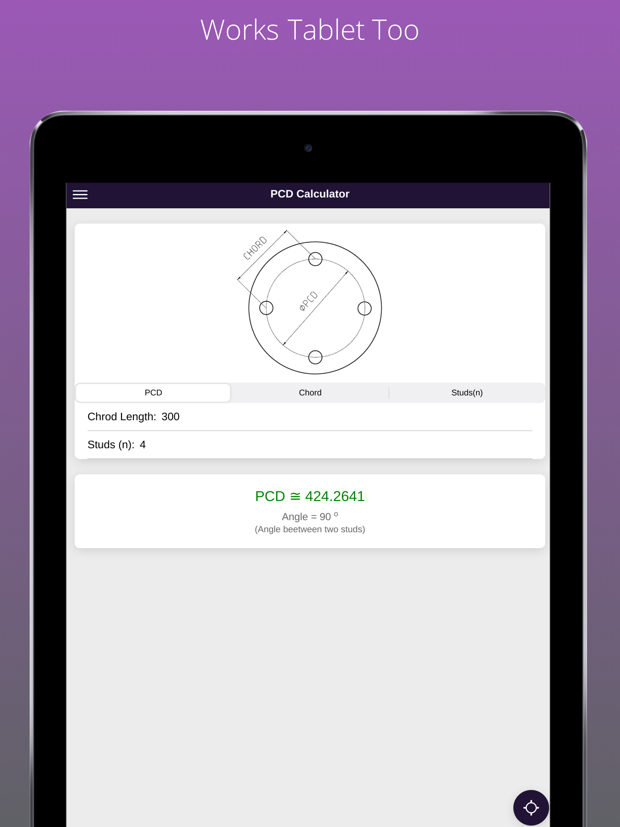 PCD and Chord Calculator APK 155.155.15 Download for Android – Download ...