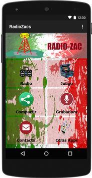 RadioZacs poster