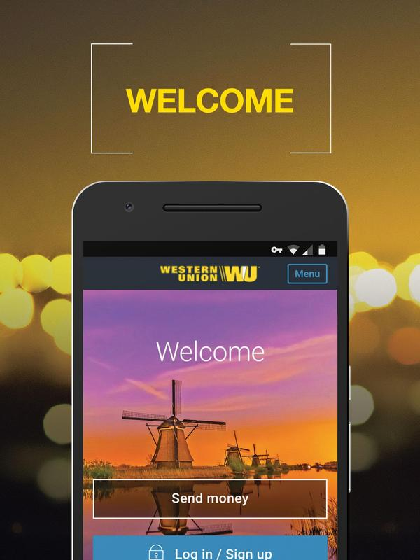 Western Union Nl Send Money Transfers Quickly Poster