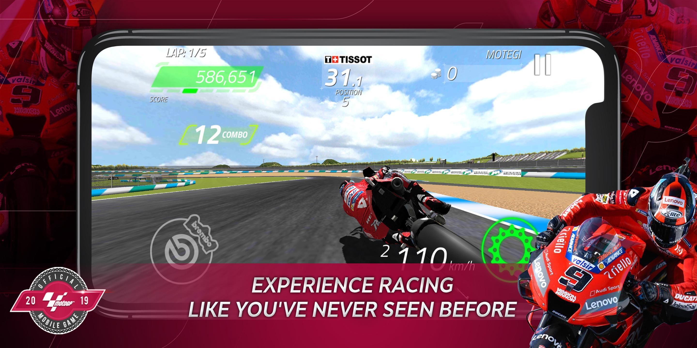 Hasil gambar untuk gambar game android moto gp 19
