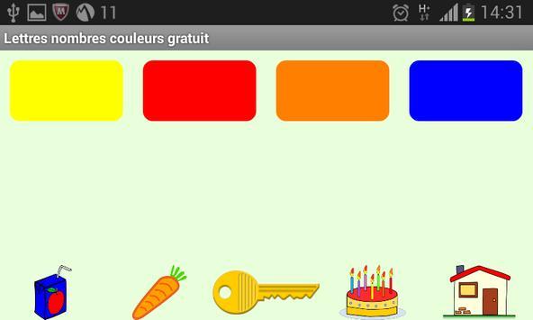 Lettres Nombres Gratuit screenshot 4