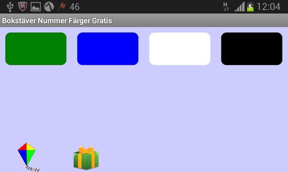 Bokstäver Nummer Färger Gratis screenshot 12