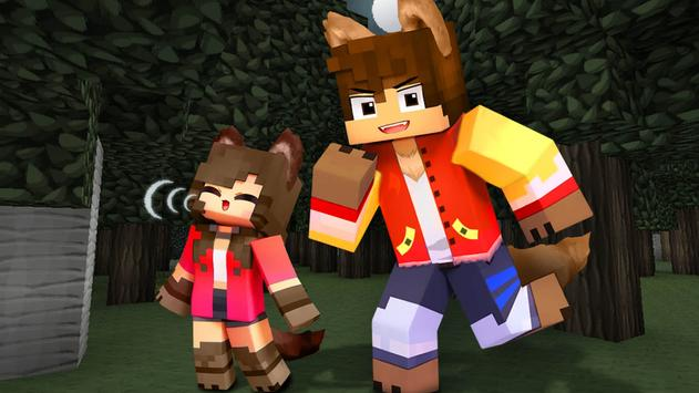 Werewolf Mod for Minecraft PE poster