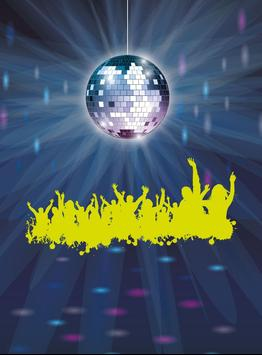 Disco Party Dancing Lights poster