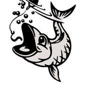 Fishing classic icon