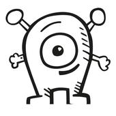 flying alien icon