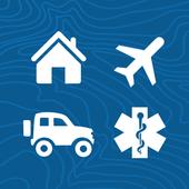 Humanitarian Booking Hub 圖標