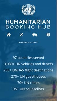 Humanitarian Booking Hub 海報