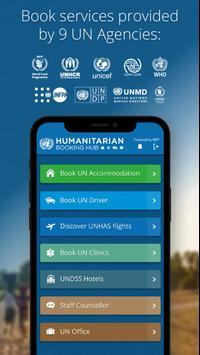 Humanitarian Booking Hub 截圖 1