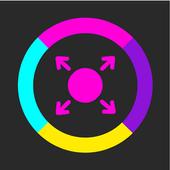 Color Crazy Ball Blast - Fire Ball Shooting icon