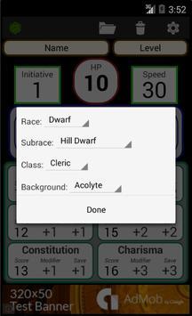 Fifth Edition Character Sheet скриншот 6