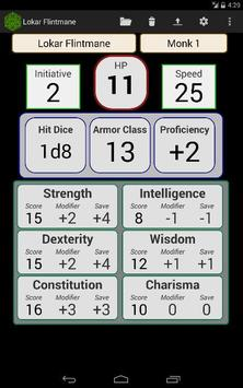 Fifth Edition Character Sheet screenshot 8