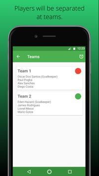 Game Teams Generator screenshot 3