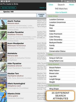iBird Pro Birds North America syot layar 14