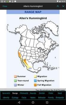 iBird Pro Birds North America syot layar 19