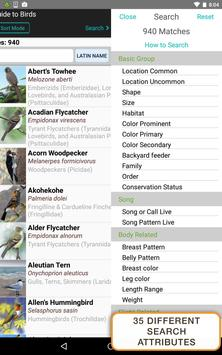 iBird Pro Birds North America syot layar 22