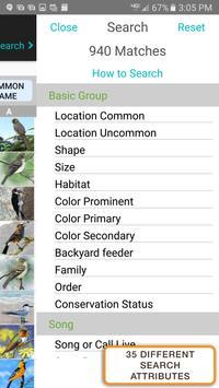 iBird Pro Birds North America syot layar 6