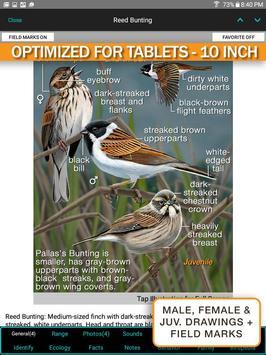 iBird Pro Birds North America syot layar 8
