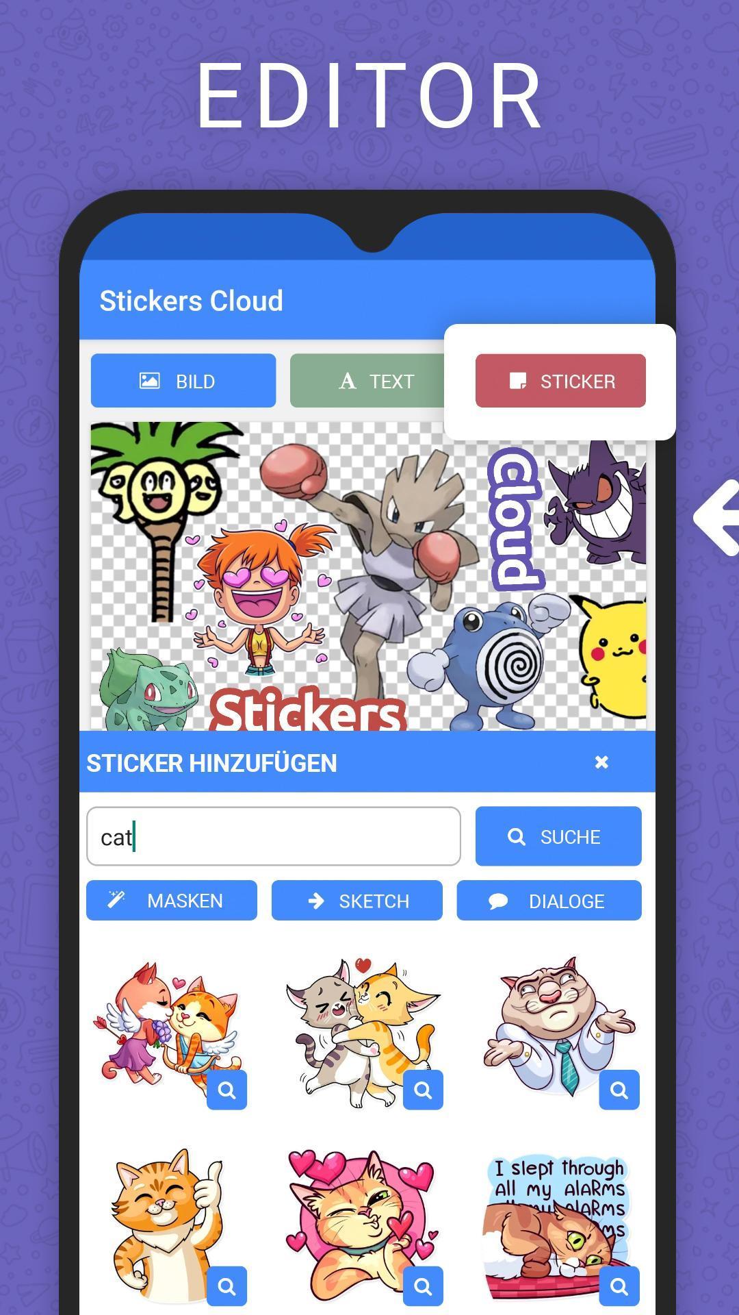 Stickers Cloud für Android   APK herunterladen