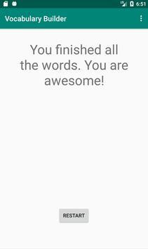 Vocabulary Builder screenshot 2
