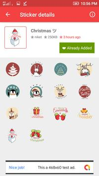 Stickers for WhatsApp - WAStickerApps screenshot 1
