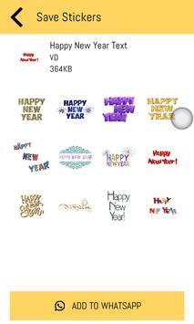 New Year Stickers 2019 For WhatsApp - WAStickerApp screenshot 4