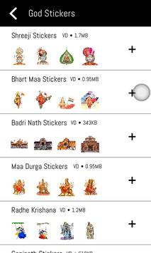 God Stickers For WhatsApp - WAStickerApp poster