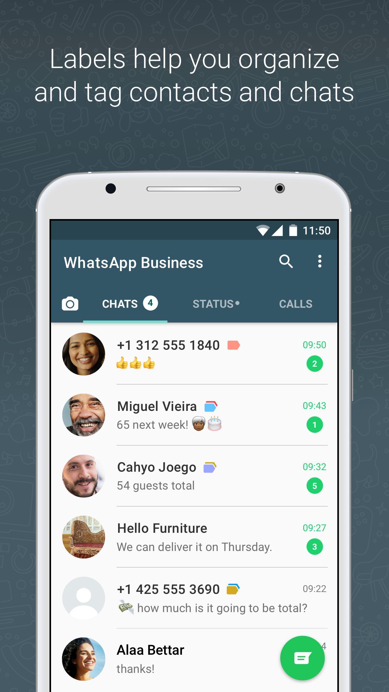 WhatsApp Business poster